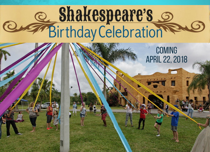 Little Revolt Shakespeare Birthday Celebration