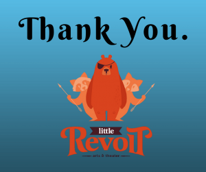 Thank you from Little Revolt