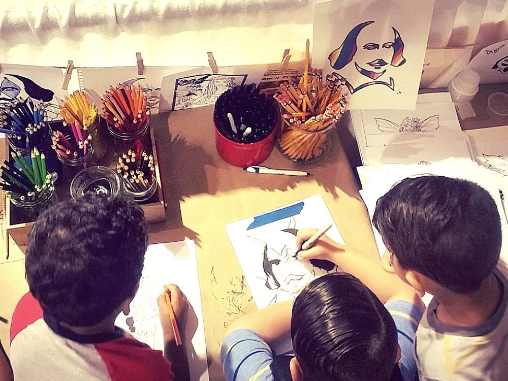 Little Revolt Children Art Activities