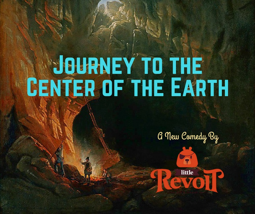 Little Revolt Journey to the Center of the Earth poster