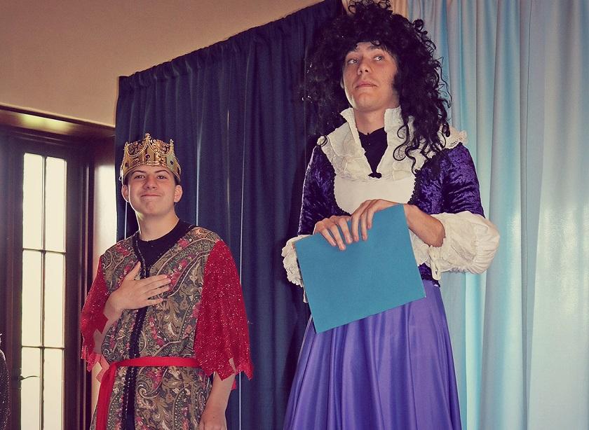 Little Revolt Shakes Fest Hamlet comedy show cropped