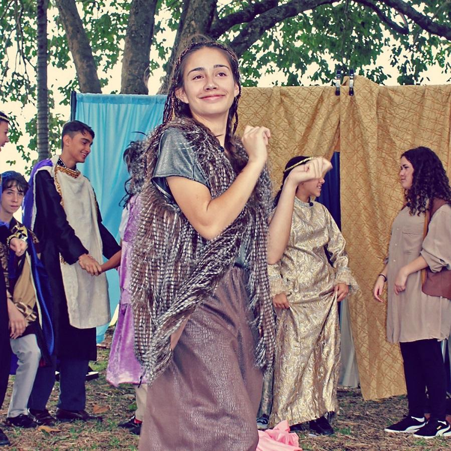 Little Revolt Student Shakespeare Midsummer Nights Dream Puck