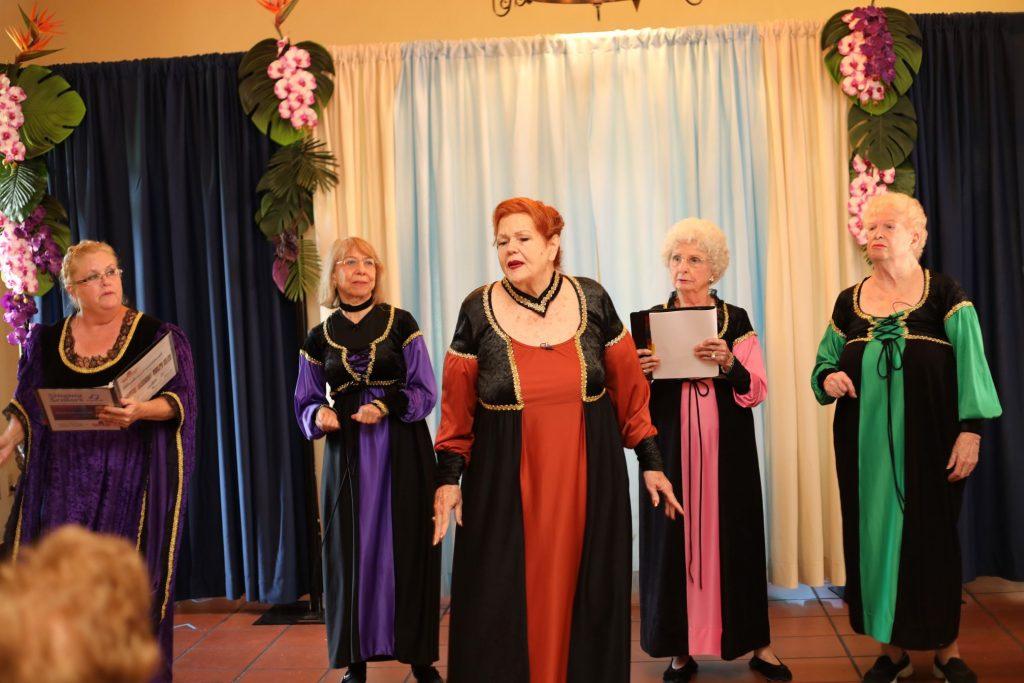 Little Revolt theater art encore program actors singing